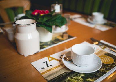 Frühstück Kaffeetasse